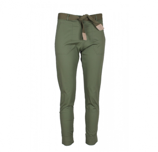 Calças Lisas Verde
