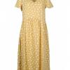 Vestido Amarelo Bolas