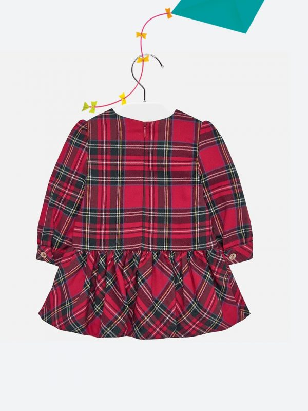 Vestido De Bebé Aos Quadrados Mayoral29262