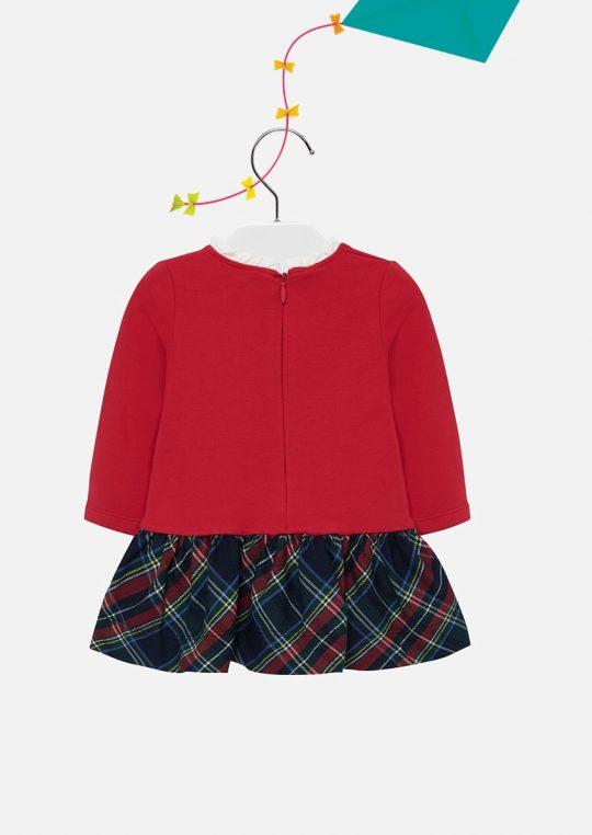 Vestido De Bebé Vermelho Mayoral2