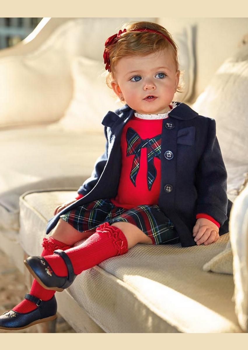 Vestido De Bebé Vermelho Mayoral2926