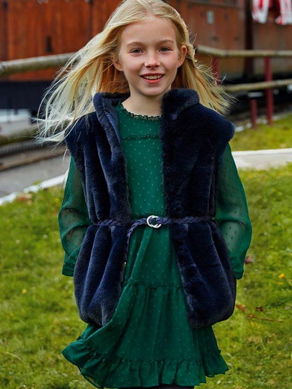 Vestido De Menina Mayoral Verde