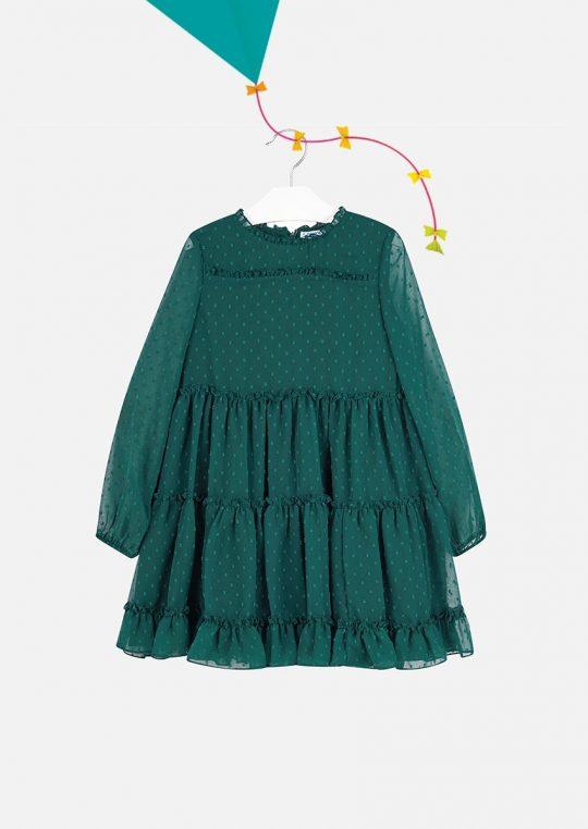 Vestido De Menina Mayoral Verde2
