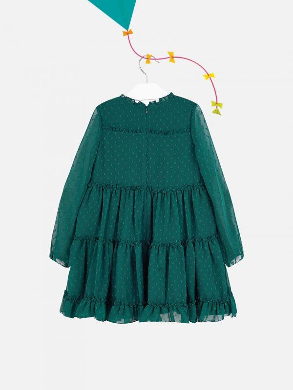 Vestido De Menina Mayoral Verde5