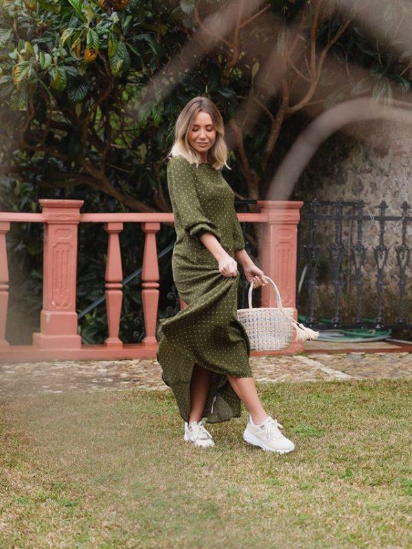 Vestido Smf Bolas Verde