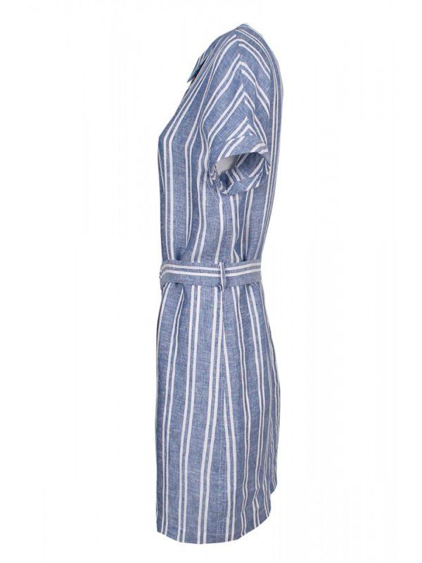 Vestido Linho Azul2