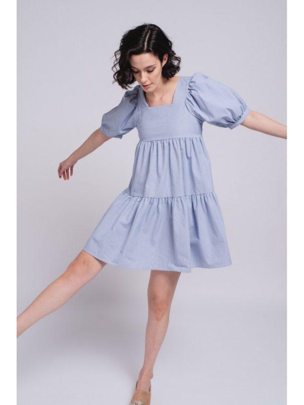 vestido azul smf3