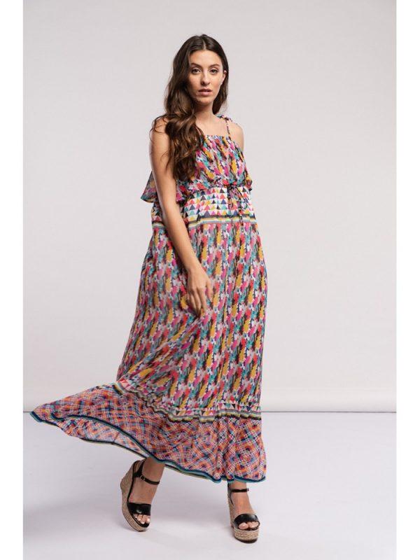 vestido multicolor1